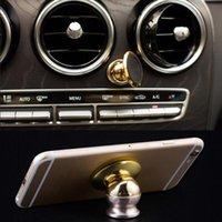 Wholesale 360 Degrees Mini Car Mobile Holder Magnetic Holder for Phone Dashboard Mobile Mount Car Kit Phone Holder