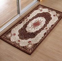 bedroom range - Hot sale high range european style entrance mat house decorative floor carpet bedroom living room rugs