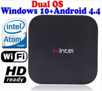 android system cpu - New Windows OS and rooted Android Dual system MINI PC Intel Quad Core CPU G G wintel TV Box multimedia player