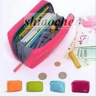 bankbook pocket organizer - Classic Storage bag Cosmetics bag purse phone Pouch Fashion handbag wallet bankbook pocket holders briefcase Key bag cluth organizer A156