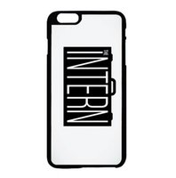 apple intern - The Intern logo fashion cell phone case for iphone s s c s plus