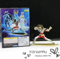 Wholesale Juguetes Dragon Ball Naruto Retail Anime Cartoon Solid Pvc Saint Seiya Action Figures Toys Model Collection with Box