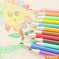 Wholesale 60 Colored pencils Click mechanical color pencil for kids drawing Stationary school supplies lapis de cor escolar
