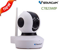 Wholesale Vstarcam C7823WIP P HD Wireless IP Camera MP H IR CUT Pan Tilt Surveillance Wifi Camera Home Security Support SD Card