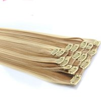 ash blonde highlights - 140g Fiber Clip In Hair quot quot quot quot quot Ash Blonde Mixed Highlighted Color P18 Heat Resistant Synthetic Clip in Hair