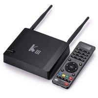 full hd media player - 2GB GB Android K3 TV Box Amlogic S905 Quad Core K G GHz Dual WIFI Gigabit LAN BT4 KODI installed Streaming Media Player KIII