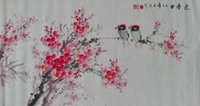 Wholesale The spring Chinese painting The collection The bedroom painted Ink and wash the Adornment picture cm