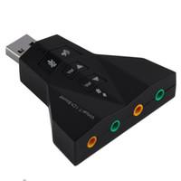 Wholesale Mini USB Sound Cards D Virtual Mbps External Channel Audio Sound Card Adapter For Windows SE ME XP Vista Mac05