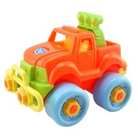 Wholesale Pop Christmas Gift Kids Child Baby Boy Disassembly Assembly Classic Car Toy Christmas Gift For Child