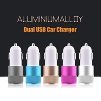 best droid phone - Best Metal Universal Dual USB Port Car Charger for Apple iPhone iPad iPod Samsung Galaxy Motorola Droid LG Sony HTC A A Smart Phone