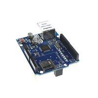 arduino ethernet shield sd card - Freeshipping Ethernet W5100 network expansion board SD card expansion for arduino UNO Shield Ethernet Shield