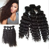 asian hair weave - DHL Free Asian Virgin Hair Wefts Deep Wave High Quality Hair Wefts Asian Human Hair