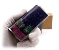 authentic wood - Authentic luxury vape box mod Stabilized Wood Box Mod Ares w VS GEM Box Mod with Original DNA Evolv Chip