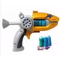 Wholesale Hot Sale Cartoon Anime Slugterra Play Shot Gun Toy Give Bullets Slugterra Action Figure As Presents Boy Toy Pistol Gun Gift