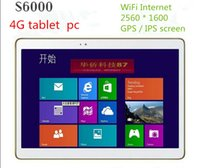 Wholesale 12 inch Lenovo S6000 tablet octa cores MTK6582 G call G GBROM WiFi Android IPS screen