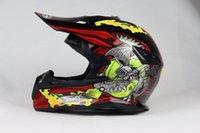 Wholesale DOT Approved Professional ATV Off road Motorbike Motocross Helmet Dirt Bike Head Gears Cascos Para Moto Motorcycle Helmet S XXL