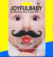 Wholesale Infant silicone Pacifier Hot Funny Dummy Dummies Pacifiers baby pacifiers baby teeth and funny personality devil JIA183 Environmental ABS