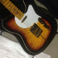 Wholesale New Arrival Merle Haggard Signature Tuff Dog Electric Guitar Vintage Sunburst HOT with case