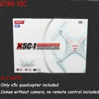 Wholesale RC Helicopter syma x5c Axis GYRO Drone Quadcopter without camera remote controll x5c copter only