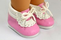 Birth-12 months american doll shoes - Fashion Cute Pink Girl Doll Shoes for quot American Girl cm Doll Accessories Shoes