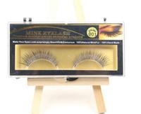Wholesale Hot Sale False Eyelashes Handmade Natural Long Thick Mink Fur Eyelashes for Beauty Makeup Natural Extension Eyelashes for Maquiagem