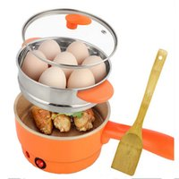 Wholesale XIANGJUN cooking egg omelet off automatically double household mini multifunction electric skillet orange