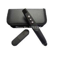 Wholesale 50pcs Hot Sale USB RF Wireless Laser Pointer Pen Presenter x