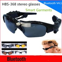 Wholesale Smart Sunglasses HBS Wireless Bluetooth Headphones Smart Glasses Polarized Eyewear Headset For Android IOS Smart Electronics