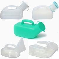 Wholesale Portable Washable Unisex Mobile Toilet Car Travel Camp Urine Pee Handle Urinal Storage Urinary Bottle Disability Old Man Helper