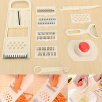 Cheap Graters Vegetable Fruit Cooking Slicer Convenient Peeler Chopper Cutter Multifunctional home Kitchen Tools BB50