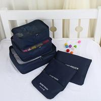 Cheap Nylon 6PCS bag organizer Best Unisex All holidays travel storage bags