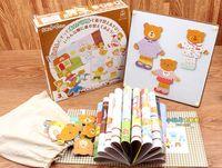 achat en gros de robe ours en bois-Jouets pour bébés Nouveaux arrivés Japon Ed.Inter Bear Family Dressing Puzzle Puzzles magnétiques Livre d'histoire éducative Jouets en bois Cadeau
