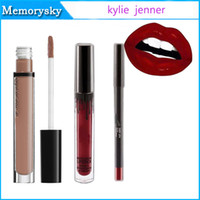 Wholesale Kylie Lip Kit kylie jenner Velvetine Liquid Matte Lipstick Lip liner KoKo K Mary Jo K Posie K Candy K