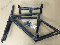 Wholesale 2016 Newest T800 Black Road Bicycle Frame Carbon Frame And Handlebar Size XXS XS S M available BB86 BB30 or BB68 adapter