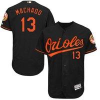 Wholesale MLB Baltimore Orioles Manny Machado Men s Game Cool Base Player Jersey Baseball Jerseys