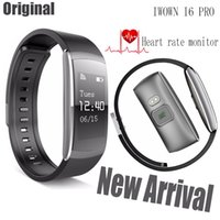 Wholesale New Smart Bracelet iwown i6 Pro Heart Rate Monitor Wristband Activity Tracker For Android IOS Phone iwown i6 Updated version