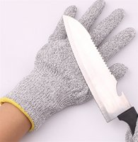 Wholesale Safetly Cut resistant Work Protective hands Thickened gloves Safety Gloves Kitchen Safety Tool Anti cut gloves A0392
