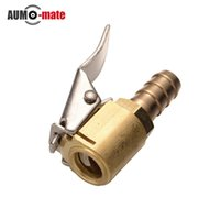 american cars trucks - Truck Auto Car Tire Inflator Valve Connector Brass Air Chuck mm Clip On American Type