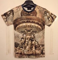 animal man statue - tshirt New style men s D t shirt funny printed Vintage retro palace nude statue top tees Tshirt DT26