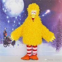 big bird clothing - Hot New Single Product Yellow Big Birds Carnival Mascot Costume Cartoon Clothing Fancy Dress Party Carnival Costume