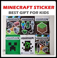 bedroom set sales - 60pcs hot sale minecraft wall stickers Collage Poster Bedroom Setting Home Decoration poster print custom the wall paper child