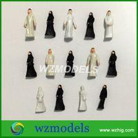 architectural scale model figures - 100pcs Architectural scale model arab figures scale painted arabic figures for building layout