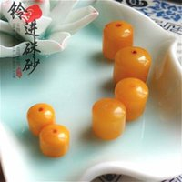 Wholesale in the old bell produced natural beeswax yellow chicken oil Tongzhu DIY powder pearl necklace bracelet accessories fidelity special offer