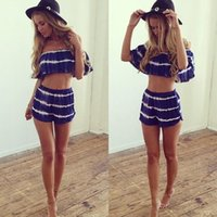 beach heat - Heat Sell Sandy Beach Lace Printing Even Clothes Pantskirt Womens Short Romper Running Mini Plus Size European Style Xl Fashion