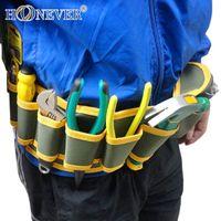 Wholesale Canvas Tool Kit Waist Hanging Bag Waterproof Electrical Maintenance Bag x13cm
