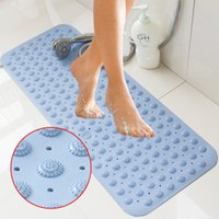Wholesale Simple Anti Slip Anti Bacterial Soft Bathroom Shower Mat for Tubs Showers Easy to Clean Safe for Baby Kids