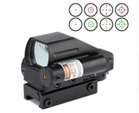 Cheap Hunting Airsoft Air Guns Riflescope Scope Red Green Dot Laser 4 Reticle Sight Scope Optics Holographic Sight Sniper Scope