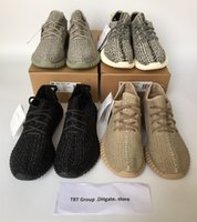leather bag factory - double box Factory price TOP1 yeezy Boost Sneakers Kanye west yeezy Training Shoes with yeezy bag receipt Keychain