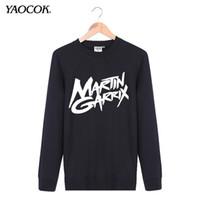 band hood - New Autumn Bomber Tracksuit Sportswear No Hood Hip Hop Custom Printed Martin Garrix Punk Rock Band Pullover Sweatshirts Men
