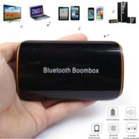 Wholesale B2 Wireless Stereo Bluetooth EDR Receiver Audio Music Box with Mic mm RCA for Speaker Car AUX Home Audio System Devices